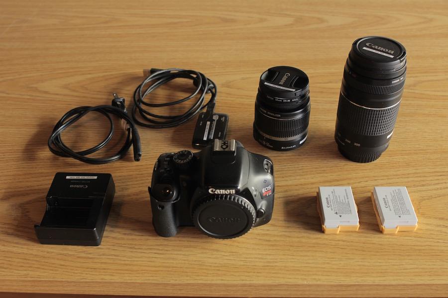 T2i DSLR Camera Kit