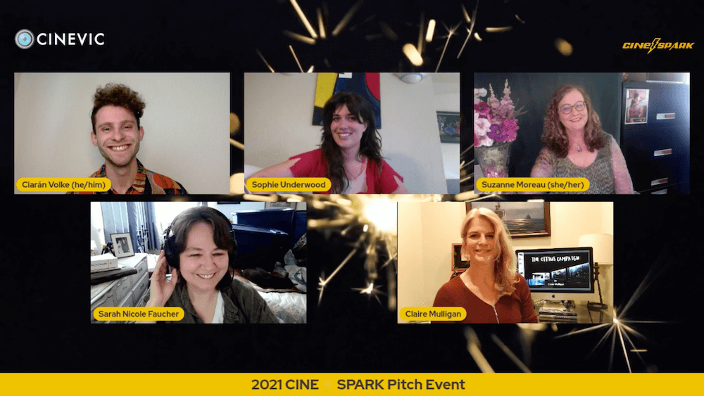 CINE⚡SPARK Pitch Event - May 19th 2021 @ 7pm 02 web